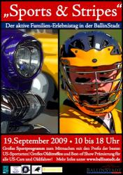 Veranstaltungstipp: Sports & Stripes-Day am 19.09. in Hamburg