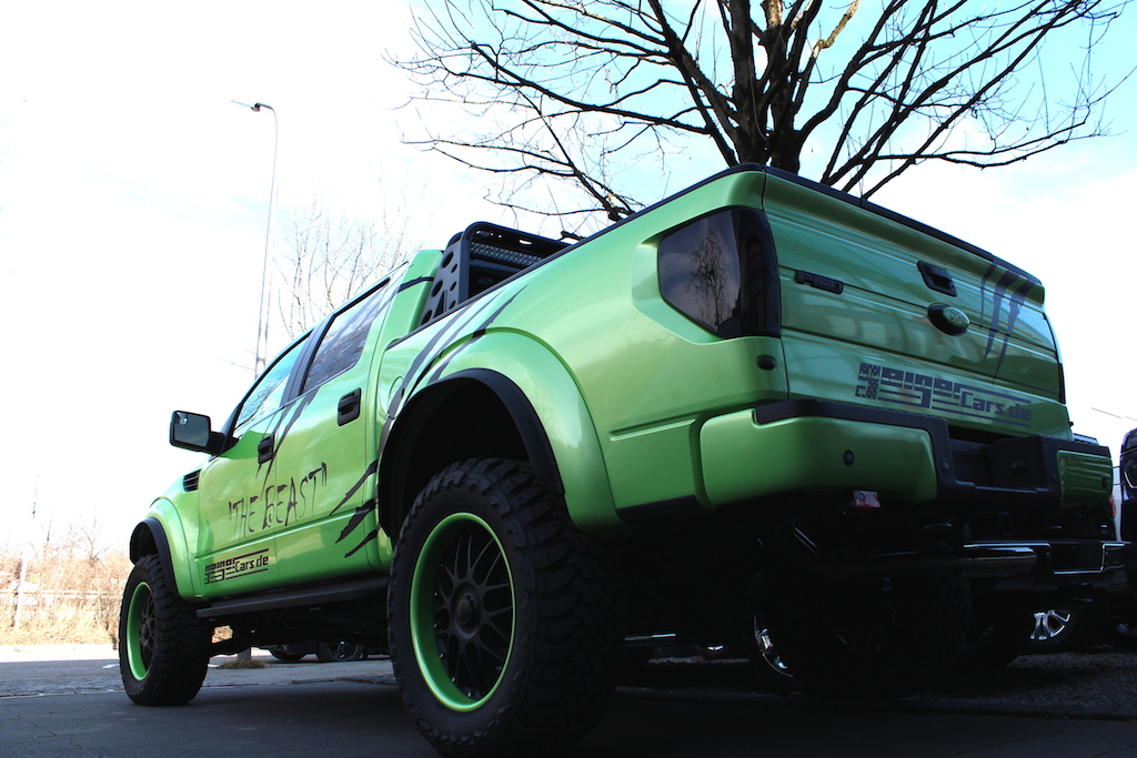 """angetestet: ford f-150 raptor """"the beast""""geigercars 