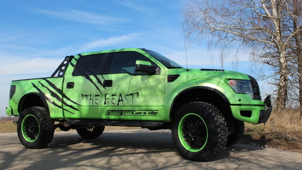 "Angetestet: Ford F-150 Raptor ""The Beast"" by GeigerCars"